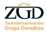 Logo firmy ZGD Sp. z o.o. beneficjenta projektu